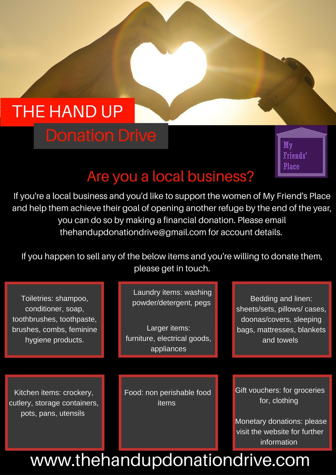 THUDD are you a local business web
